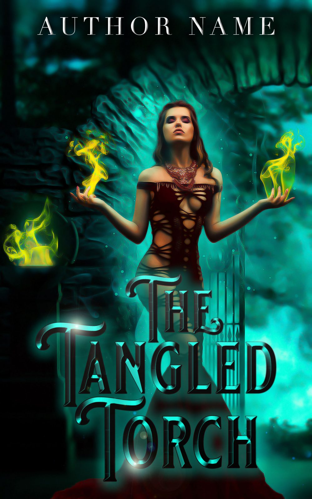 The Tangled Torch fantasy book cover