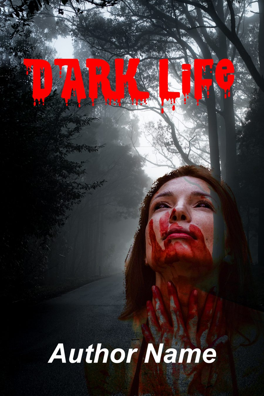Dark life book cover