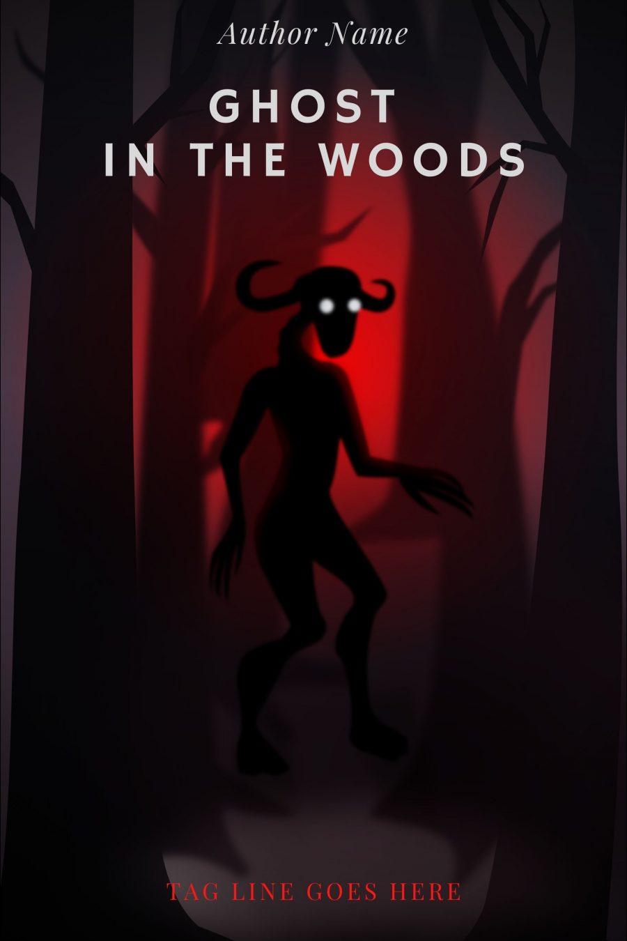 Monster among trees